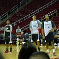 Scott Machado, Donatas Motiejunas, and Greg Smith.jpg