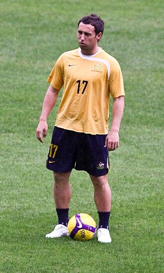 Scott McDonald - McDonald training for Australia in 2009
