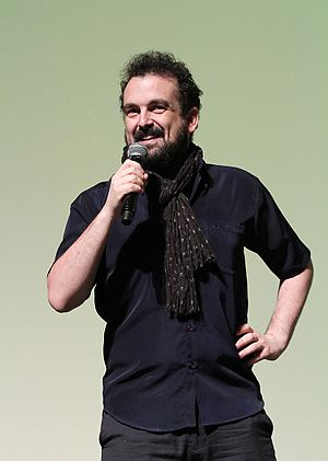 Nacho Vigalondo - Vigalondo at the 2014 Miami International Film Festival presentation of the film Open Windows