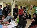 Scribus team and guests at LGM 2008.jpg