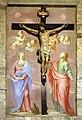 Scuola fiorentina, dolenti, xviii secolo, con crocifisso forse coevo.jpg