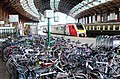 Sea of bikes, Bristol Temple Meads station - geograph.org.uk - 984123.jpg
