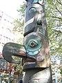 Seattle - Pioneer Square totem pole detail 04.jpg