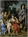 Sebastiano Ceccarini - Portrait of a family (Allegory of the five senses).jpg