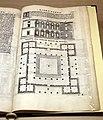 Sebastiano serlio, pianta della villa di poggio reale a napoli, 1540 (mi, bibl. braidense) 02.jpg