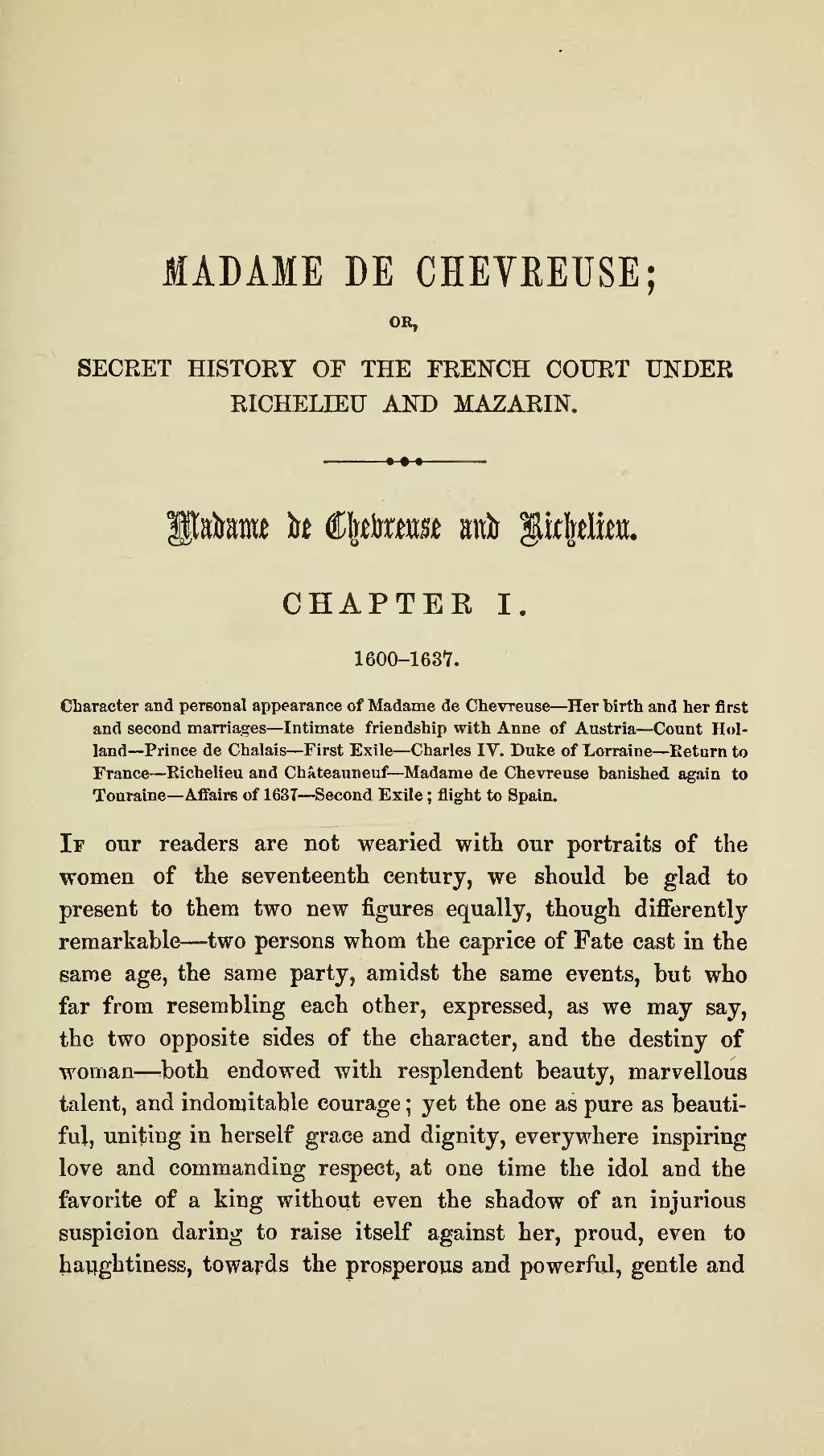 Page:Secret History of the French Court under Richelieu and