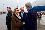 Secretary Kerry Chats With Mrs. Emerson Upon Arrival in Hamburg (31341207992).jpg