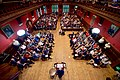 Secretary Kerry Delivers an Address to the Oxford Union Membership in the Debating Chamber (26955498775).jpg