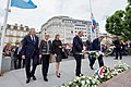 Secretary Kerry Lays Flowers at Monument of Remembrance in Luxembourg City (28243068482).jpg