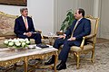 Secretary Kerry Meets With Egyptian President al-Sisi at the Presidential Palace in Cairo (26539484685).jpg