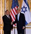 Secretary Kerry Shakes Hands With Israeli Foreign Minister Lieberman, June 2014.jpg