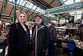 Secretary of State Karen bradley visits Belfast's St George's Market (25169364117).jpg
