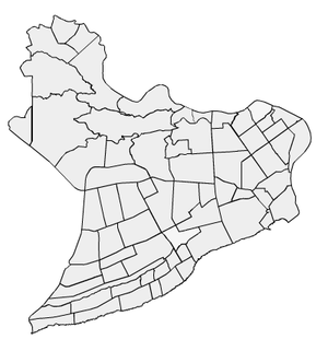 Distrito Nacional - Sectors of the District.