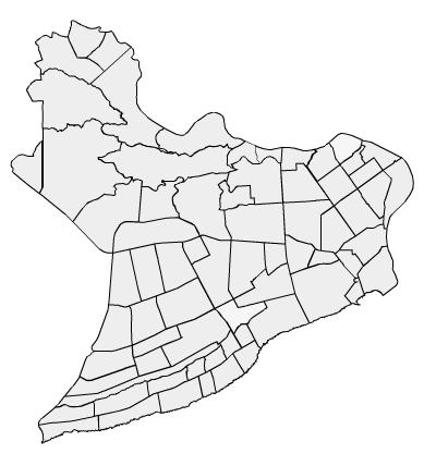 Sectors of the Distrito Nacional