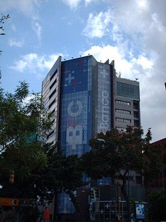 José Lino Vaamonde - Torre BFC (Banco Fondo Común), formerly the Shell headquarters in Caracas