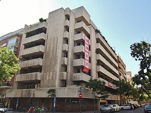 Workers' Commissions - CCOO headquarters, Madrid.