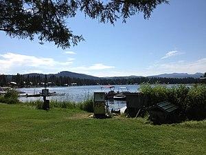 Seeley Lake, Montana - Image: Seeley Lake Montana 20130716 04