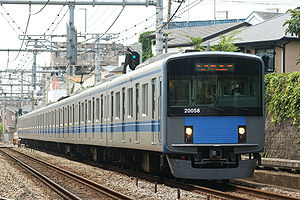 Hitachi A-train - Seibu 20000 series EMU