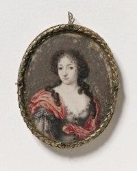 Selfportrait (Drottning Ulrika Eleonora d.ä.) - Nationalmuseum - 24027.tif