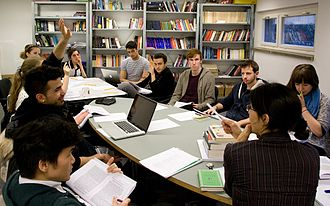 Liberal arts college - Class at Bard College Berlin, in Europe