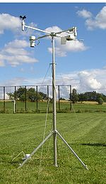 A special weather station used for meteorological measurements during solar eclipses.