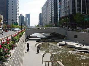 Han River (Korea) - Cheonggyecheon