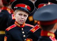 Sergey Shoigu in Moscow Suvorov Military School-01.jpg