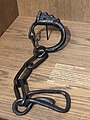 Shackle at the Museum in Chateau de Ducs.jpg