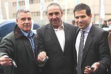 Shai Agassi, Idan Ofer, and Moshe Kaplinsky (6782129355).jpg
