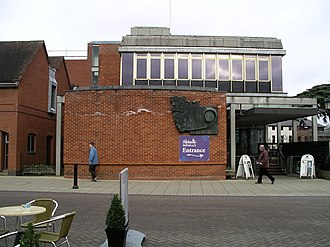 Shakespeare Birthplace Trust - The tourists' entrance to Shakespeare's house is via the adjacent Shakespeare Centre opened in 1964
