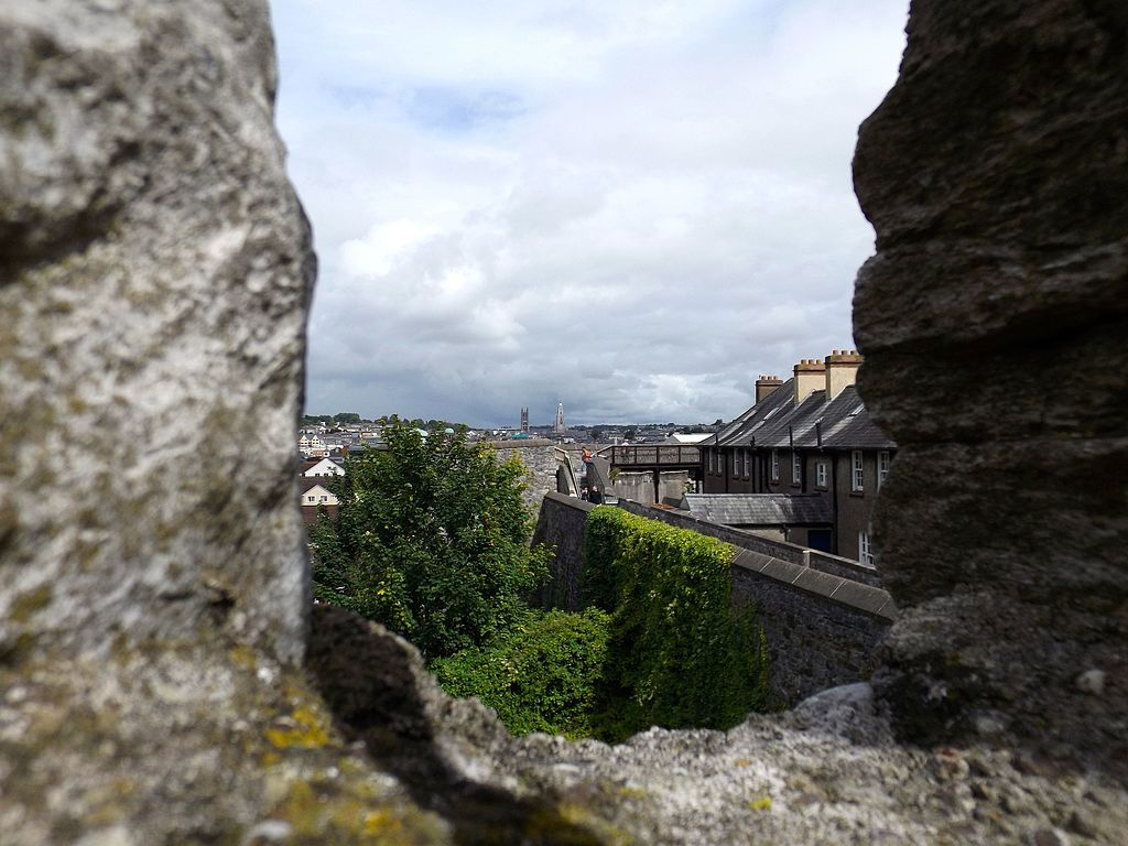 Shandon and the North Cathedral viewed from Elizabeth Fort 2