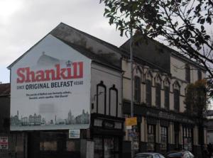 Shankill Road - Shankill history mural.