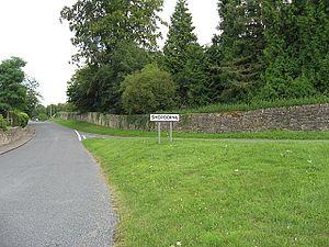 Sherborne, Gloucestershire - Entrance to Sherborne