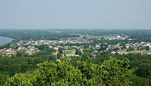 Sherwood, Wisconsin - Image: Sherwood Wisconsin SW From Escarpment