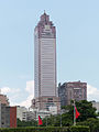 Shin Kong Life Tower View from Presidential Building Plaza 20140806.jpg
