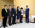 Shinzō Abe, Seiko Noda and Tetsuko Kuroyanagi (2).jpg