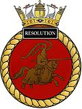 Ships crest of HMS Resolution (S22).jpg