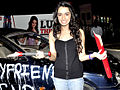 Shraddha Kapoor breaks a Jagaur for 'Luv Ka The End' promotions.jpg