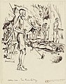 Sick and Dying- Cholera Lines - Thai-burma Railway, 1943 Art.IWMART15747103.jpg
