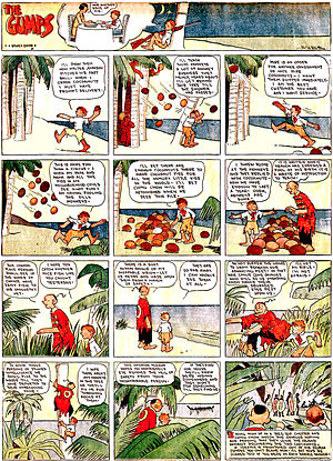 Sidney Smith (cartoonist) - Sidney Smith's The Gumps (March 8, 1925)