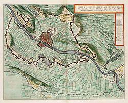Siege of Maastricht by Frederick Henry in 1632 - Obsidio et Expugnatio Traiecti ad Mosam.jpg