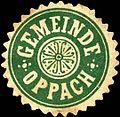 Siegelmarke Gemeinde Oppach W0220340.jpg