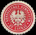 Siegelmarke Königliches Gymnasium zu Luckau W0307656.jpg
