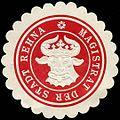 Siegelmarke Magistrat der Stadt Rehna W0205004.jpg