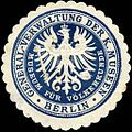Siegelmarke Museum für Völkerkunde - General - Verwaltung der Königlichen Mussen - Berlin W0212948.jpg