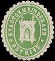 Siegelmarke Stadtgemeinderath Ostritz W0392343.jpg