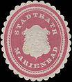 Siegelmarke Stadtrath Marienbad W0318424.jpg