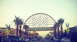 Whittier Boulevard Street in Los Angeles County