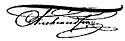Alexandru al II-lea al Rusiei's signature