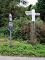 Signpost at Gatty's Bridge - geograph.org.uk - 566509.jpg